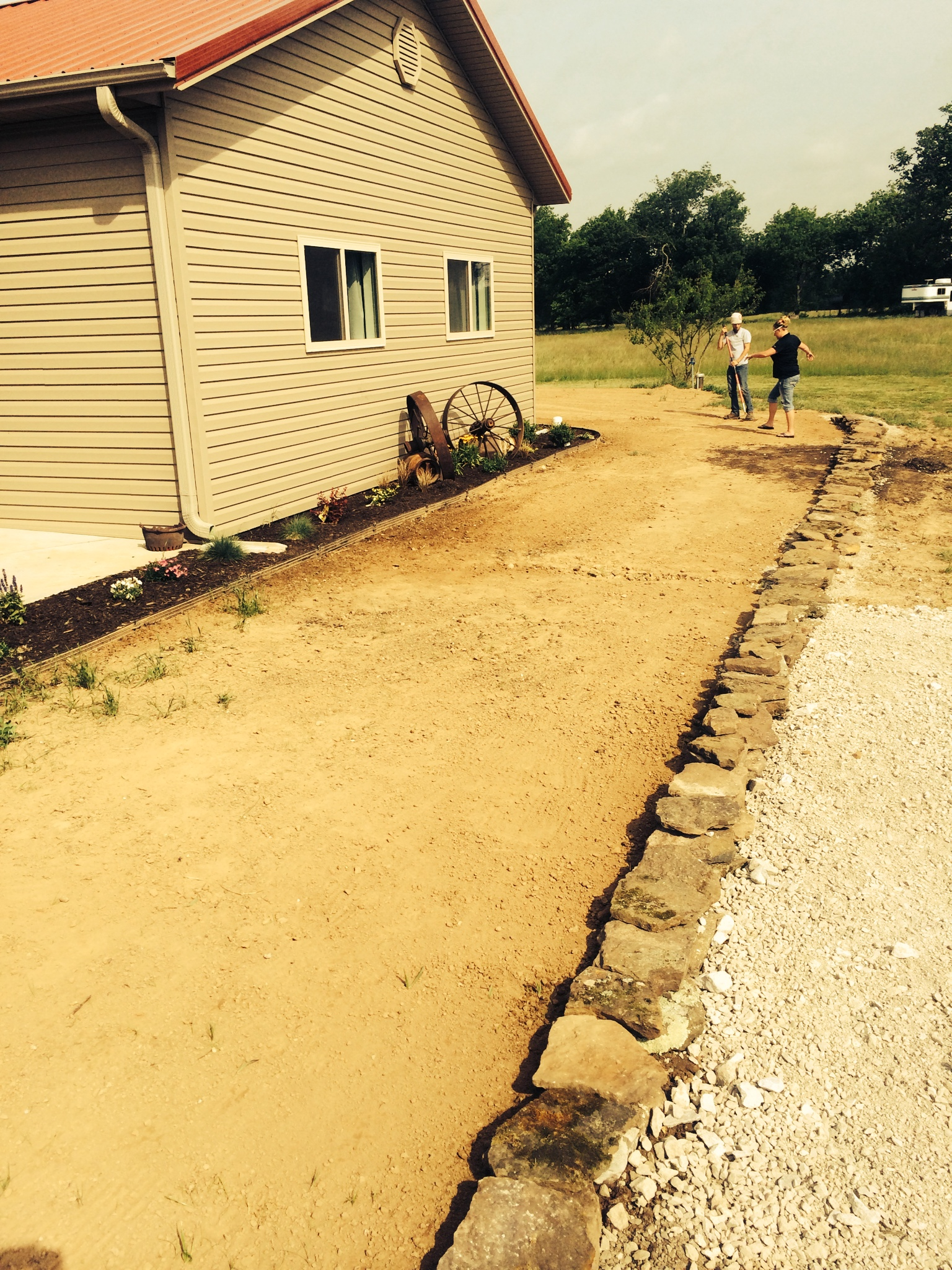 landscaping by r d lawn care and landscaping