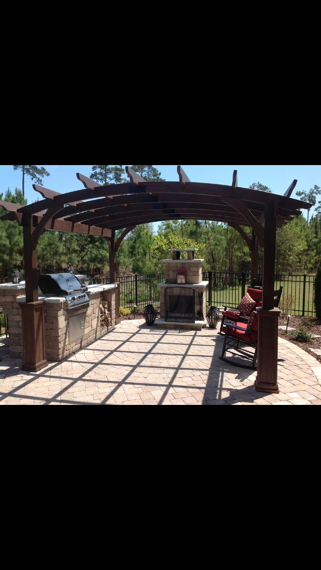 Landscaping Stones Joplin Mo : Outdoor patios and kitchens by r d lawn care